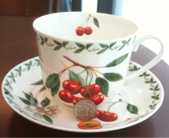 Cherry Tea Cup Maxwell & Williams
