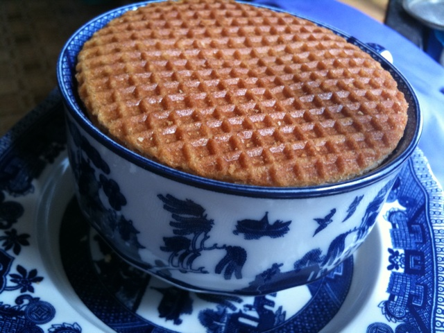 Stroop Wafel and Tea